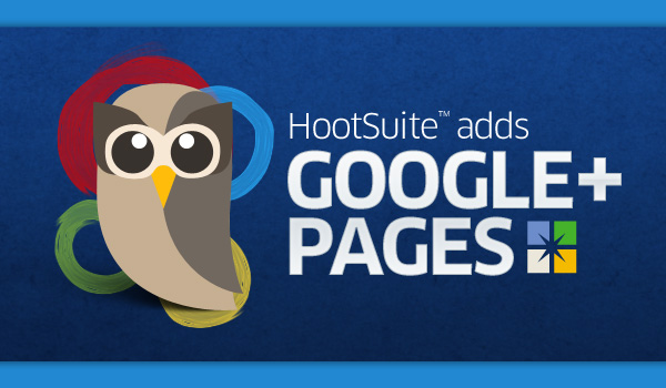 Google+ Pages on Hootsuite